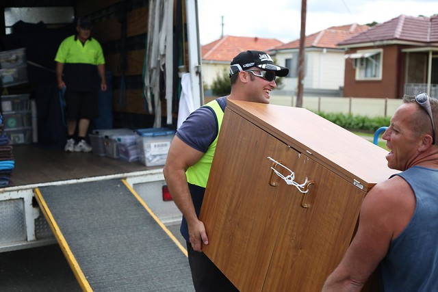 Removalist packing boxes